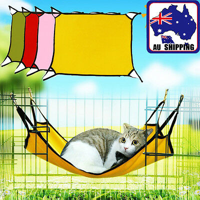 Pet Hanging Bed Hammock Soft Small Cat Kitten Dog Puppy Cradle Animals PCAT364