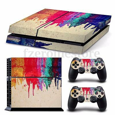 Nass Graffiti Decal Vinyl Skin Sticker For Sony PS4 4 Console 2 Controllers