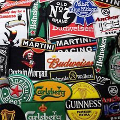BEER, LIQUOR & ALCOHOL - Iron-on Patch Collection - Chose Different Patches!