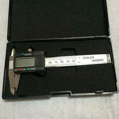 LCD Electronic Digital Gauge Stainless Vernier Caliper 100/150mm Micrometer ~