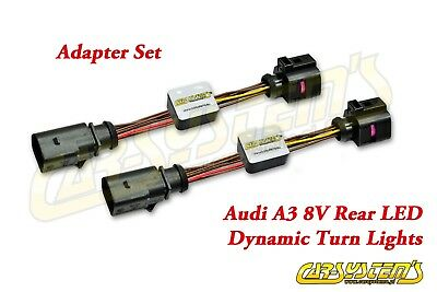 Audi A3 8V - Dynamischer LED Blinker Plug & Play - Dynamic LED Plug&play