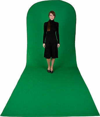Crease Free 1.8m x 2.1m x 2.3m Chromakey Green Slip for Collapsible Backdrops