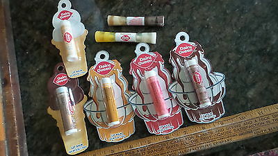 7 DAIRY QUEEN Advertising PROMOTIONAL LIP BALM & LIP GLOSS