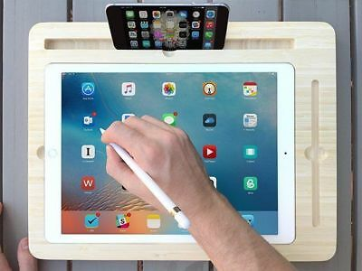 New display Dock For Apple iPad Pro 12.9″ with Apple Pencil Slot premium bamboo
