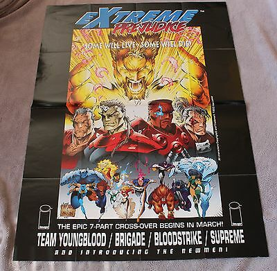 Extreme Prejudice 1993 Youngblood Brigade Newmen Supreme Image PROMO Poster VF