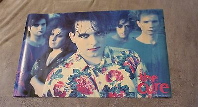 CURE 1990 Robert Smith Jason Cooper Simon Gallup Gothic Punk Poster #P7114 EX