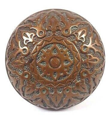 ~ Collectible Antique K111 Bronze Doorknob R&E 1875 Door Knob Hardware Victorian