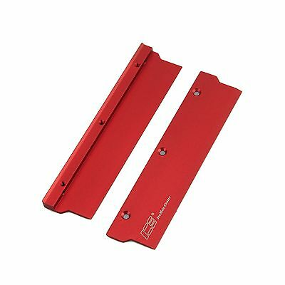 Memory Spreader RED Heat Sink Cooler Aluminum With Thermal Pads 1Pc Set