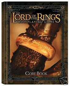 LORD OF THE RINGS RPG - 'Core Book' Sourcebook (1st Printing) #NEW