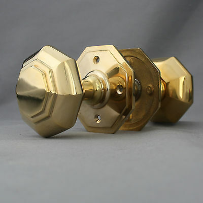 Georgian Octagonal Door Knobs