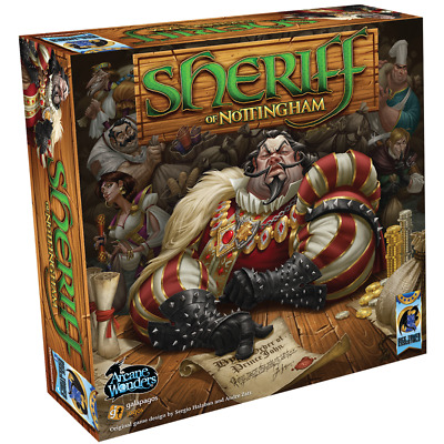 Sheriff of Nottingham First in Dice Tower Essentials Board Game