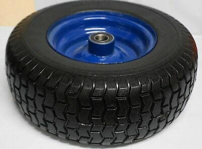 16 x 6.5 - 8 Wheelbarrow Wheel SOLID 25mm Bearing Puncture Proof FREE PICK UP