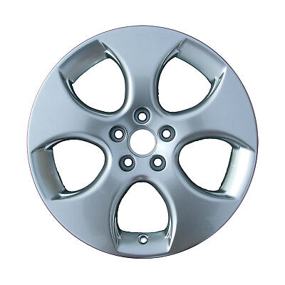 OEM 17X8.5 Alloy Wheel Bright Sparkle Silver Painted w//Machined Face 560-65358