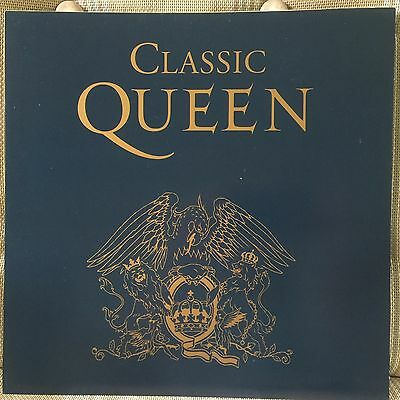QUEEN Classic Queen 2-sided 12 x 12 Promo LP Flat / Poster