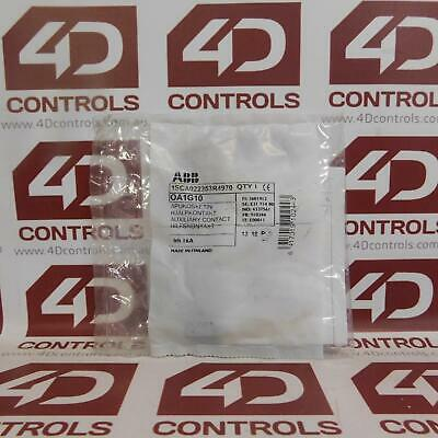 ABB 1SCA022353R4970-OA1G10 Snap-On Auxiliary Contact, NO - New Surplus Sealed