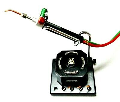 Smith Little Torch With 5 Tips + Stand Holder + Electronic Igniter Complete Set