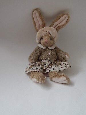 """Russ Berrie Anna Small Rabbit Soft Toy Bunny 10"""""""