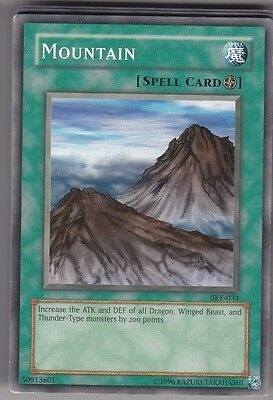 YU-GI-OH Mountain Common englisch SKE-034 Berg
