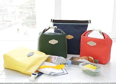 New Thermal Insulated Cooler Waterproof Picnic Lunch Carry Tote Bag Pouch Box
