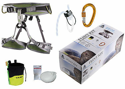 Set Camp Flint Kit - Klettergurt + Tube + Karabiner + Chalkbag + Chalkball