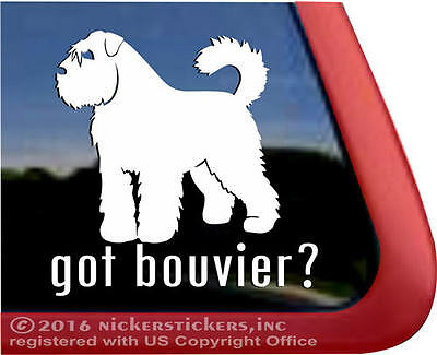 Got Bouvier? | High Quality Bouvier des Flanders Dog Decal | NickerStickers