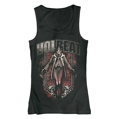VOLBEAT - King & Skulls - Girlie Top Girl Woman Damen Shirt - Größe Size S