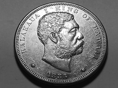 1883 Hawaii Silver Dollar * Choice AU #2 * Ask about our payment plans *