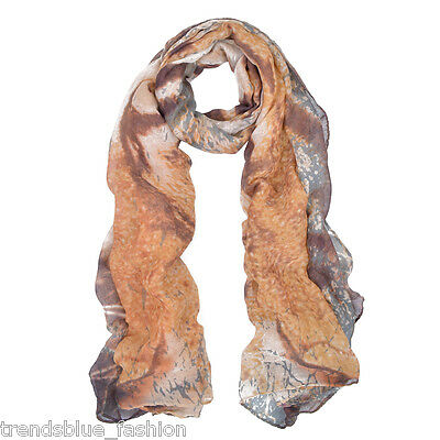 Premium Exotic Tiger Animal Print Scarf Wrap