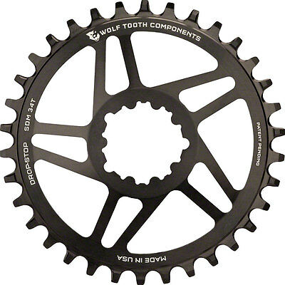 Wolf Tooth Direct Mount Drop-Stop 28T Chainring for SRAM Mountain GXP Cranks