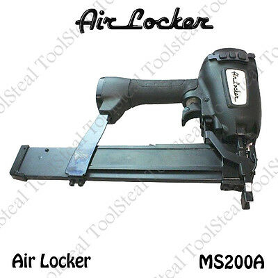 "Air Locker MS200A - 16 Gauge 2"" long 7/16"" Medium Crown Stapler"