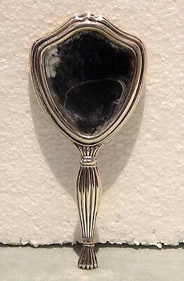 Continental 800 Sterling Silver Hand Mirror     Magnificent
