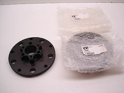 """2 New Nascar Ford 9"""" Floater Hub Rear End Drive Plates Flanges Cv Products Kera"""