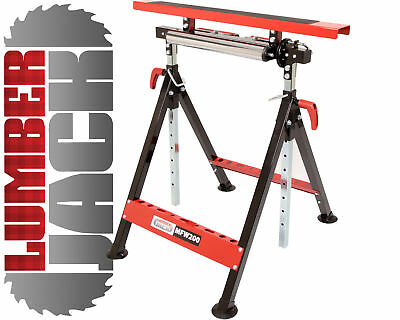 Lumberjack MFW200 Multifunction 3 in 1 Workstand Roller V & Work Platform...