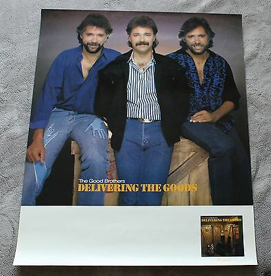 Good Brothers 1986 Brian Bruce Larry Delivering Savannah Promo Poster EX C8