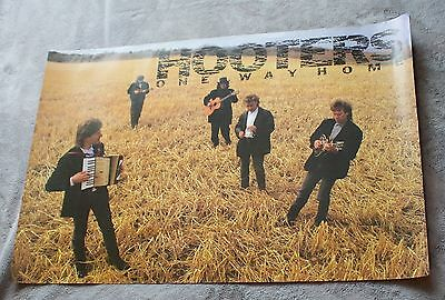 Hooters One Way Home 1987 Eric Bazilian Rob Hyman CBS PROMO Poster #C40659 VGEX