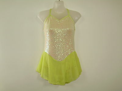 ICE SKATING / DANCE COSTUME  Girls SIZE 14 NEW
