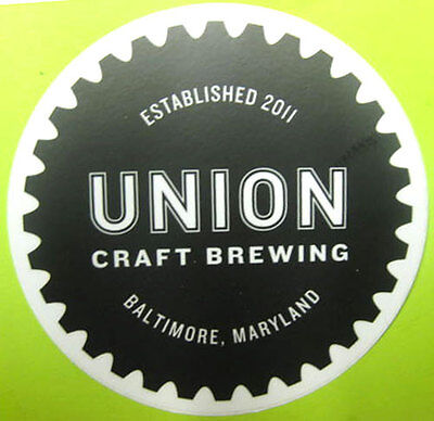 BALTIMORE BEER WEEK 2 inch Beer STICKER Label with CRAB Baltimore MARYLAND NEW