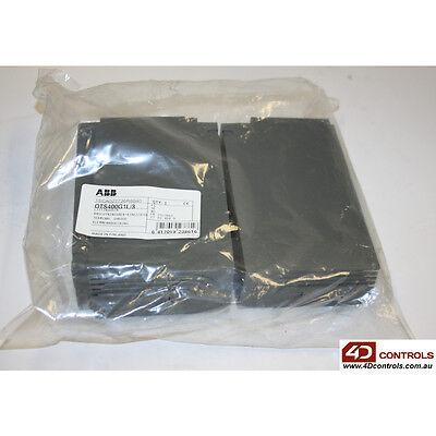 ABB 1SCA022736R8840 TERMINAL SHROUD SNAP ON MOUNTING GREY QTY 3 - New Surplus...