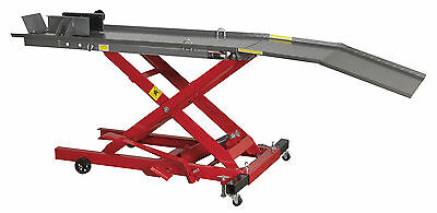 Sealey MC365 Hydraulic Motorcycle Motorbike Bike Lift Bench Ramp 365kg Capacity