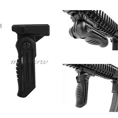 5 Position Hunting Foldable Foregrip Front Grip for Picatinny/Weaver Rail Type