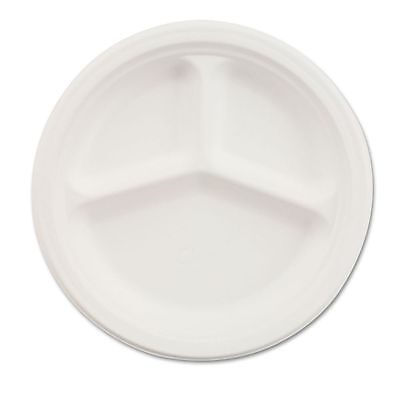 "Chinet 10"" Paper Compartment Plates - HUH21204CT"