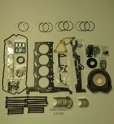 Ford Transit 2.4 TDCI Engine kit with rings