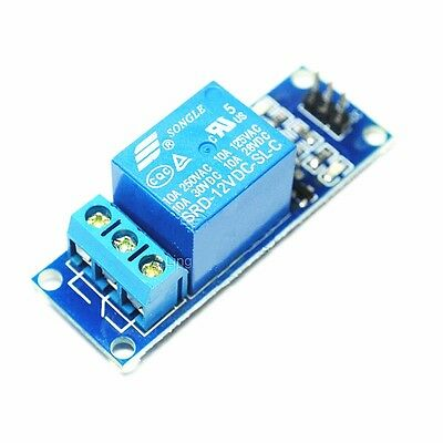 2PCS 1 CHANNEL 12V Relay Module with optocoupler for Arduino PIC ARM DSP  AVR NEW
