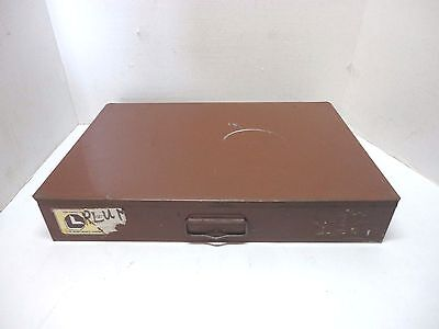 Lawson Products Small Parts Metal Storage Cabinet Drawer with 24 Slots