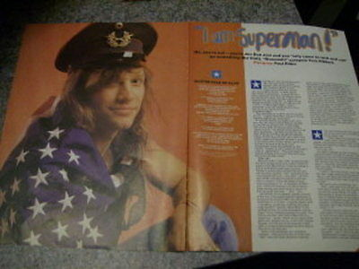 Bon Jovi Australian & UK Clippings & 3 Posters