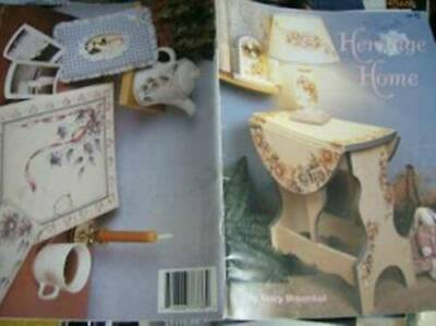 Heritage Home Painting Book Flowers- Roses, Tulips, Daisies