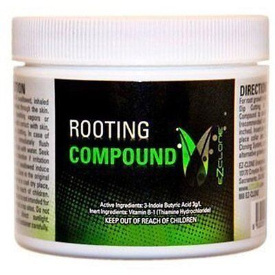 EZ Clone Rooting Compound Gel 1 oz - propagation cuttings