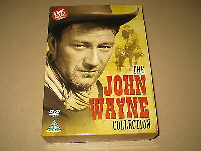 John Wayne (DVD, 2009, 3-Disc Set) (McLintock, Sagebrush Trail, Angel & The Bad