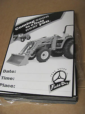 John Deere Promotional Advertising Field Day Flyers