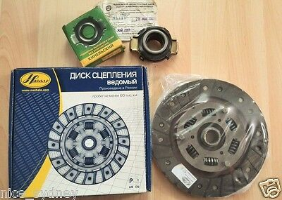 Lada Samara Sable Cevaro Clutch Disk And Pressure Bearing All Made In Russia